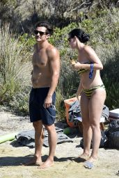 Katy Perry Bikini Photos - Beach in Italy 8/3/2016