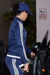 Katy Perry in Tracksuit - Leaving a Gym in LA 8/11/2016