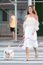 Kelly Bensimon Street Style - NY 8/22/2016