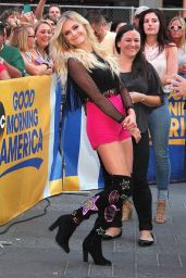 Kelsea Ballerini at Good Morning America in New York City 8/19/2016