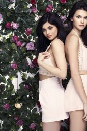 4badb6fe03d Kendall and Kylie Jenner – PacSun s Exclusive Paradise Lost Collection  Photoshoot 2016