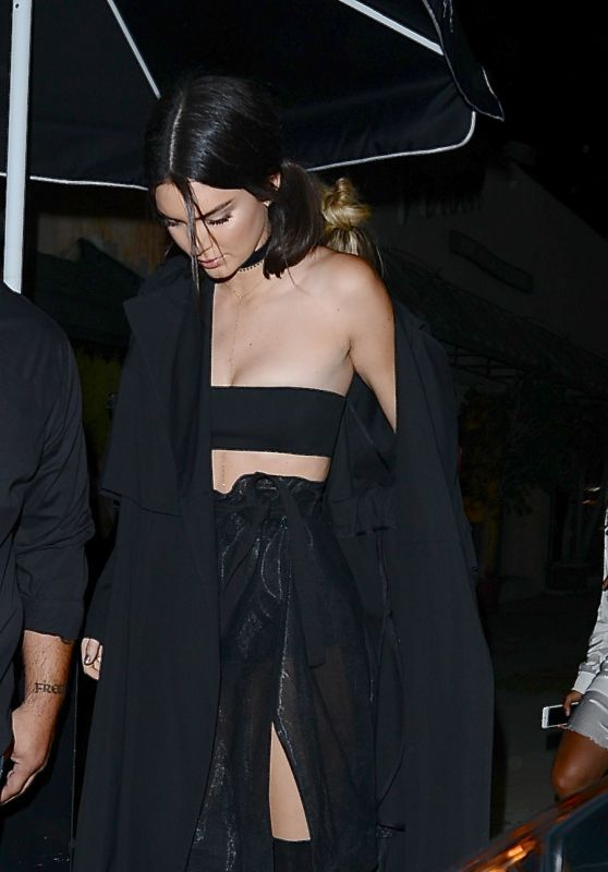 Kendall Jenner at The Nice Guy in West Hollywood, 7/31/2016