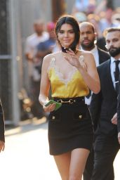 Kendall Jenner - Leaving Jimmy Kimmel Live in Los Angeles, CA 8/24/2016
