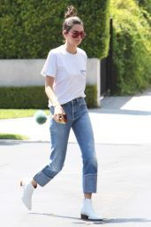 Kendall Jenner Street Style - at Fred Segal in West Hollywood 8/22/2016