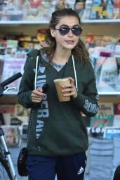 Kiernan Shipka - Grabs an Iced Coffee in LA 8/21/2016