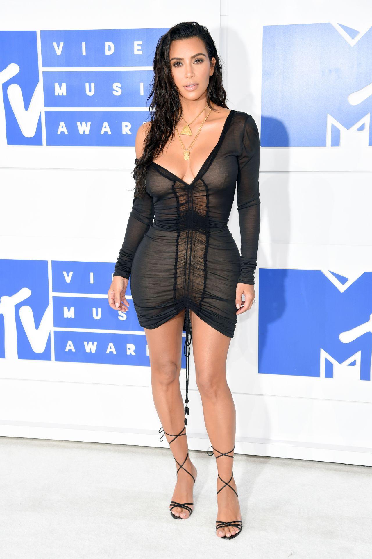 Kim Kardashian Mtv Video Music Awards 2016 In New York City 8 28 2016