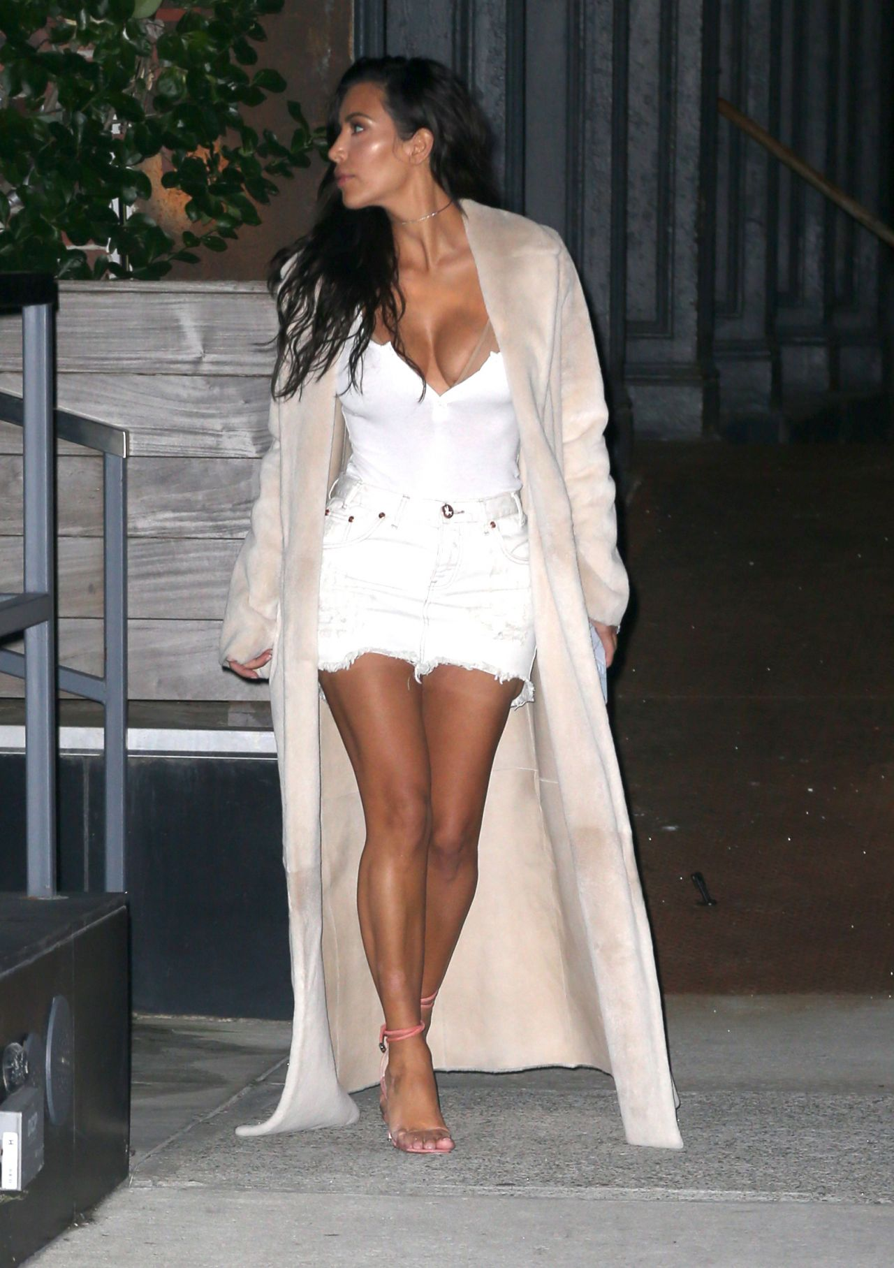 Celebrities Trands Kim Kardashian Style Out In Nyc 8 29