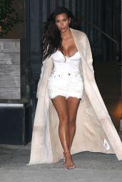 Kim Kardashian Style - Out in NYC 8/29/2016