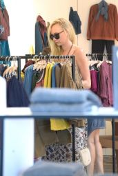 Kimberly Stewart Shopping in West Hollywood 8/29/2016