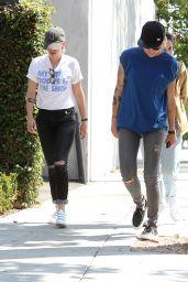 Kristen Stewart at Scott