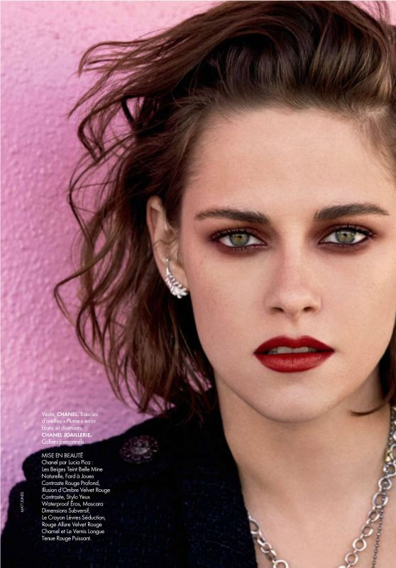 Kristen Stewart - Elle Magazine France August 2016 Issue