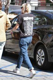 Kristen Stewart - Outside Gracias Madre Restaurant in West Hollywood 8/22/2016