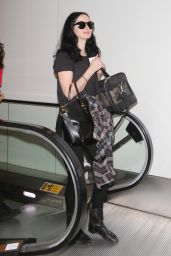Krysten Ritter at LAX Airport in Los Angeles 8/22/2016
