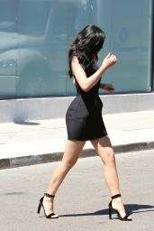 Kylie Jenner Hot in Mini Dress - at Maxfield