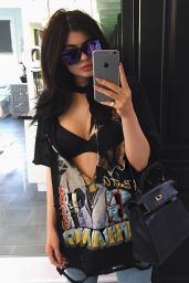 Kylie Jenner Social Media Pics, August 2016
