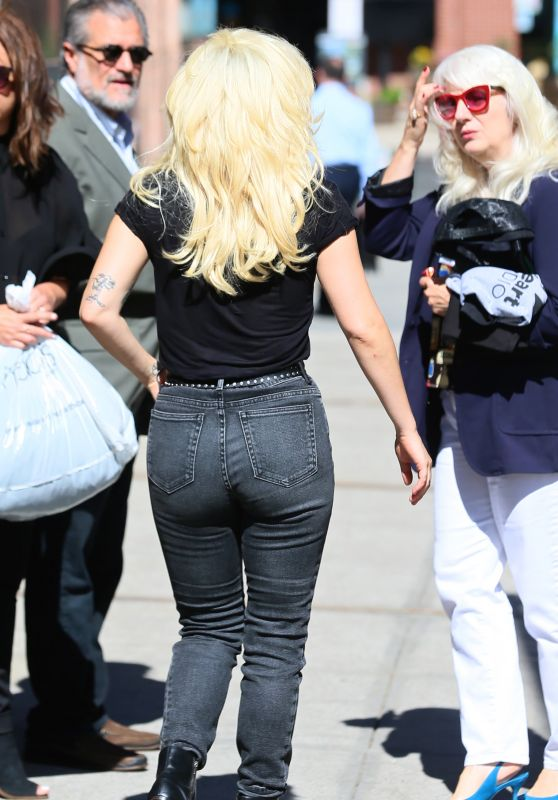 Lady Gaga Booty in Jeans - New York 8/17/2016