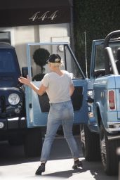 Lady Gaga Booty in Jeans - Out in Los Angeles 8/11/2016