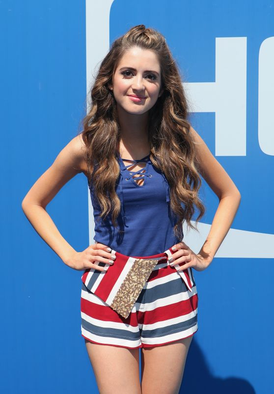 Laura Marano - Arthur Ashe Kids' Day in New York City 8/27/2016