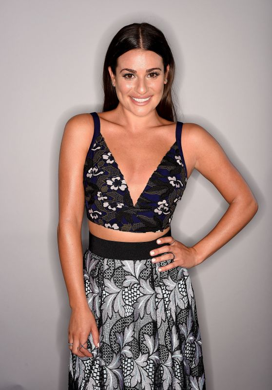 Lea Michele - 2016 Teen Choice Awards Photo Studio