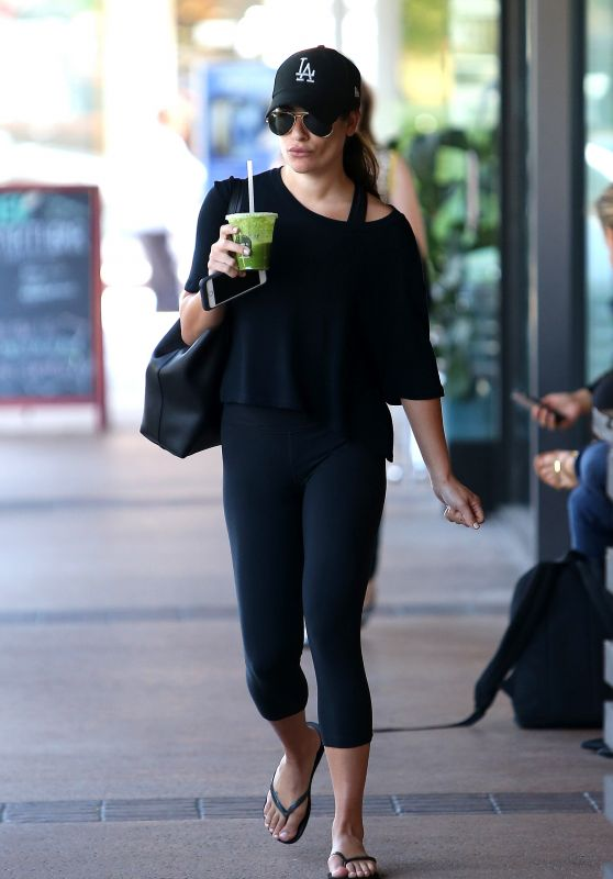 Lea Michele - Running Errands in Los Angeles 8/11/2016