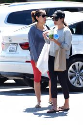 Lea Michele - Shopping in Brentwood 8/18/2016