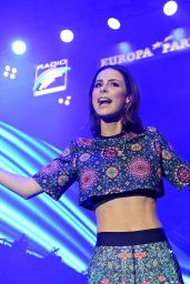 Lena Meyer-Landrut Performing at a Concert at Europa Park in Rust, Germany, August 2016