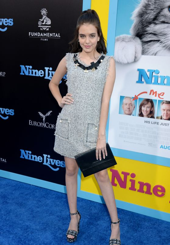 Lilimar Hernandez – 'Nine Lives' Premiere in Hollywood 8/1/2016