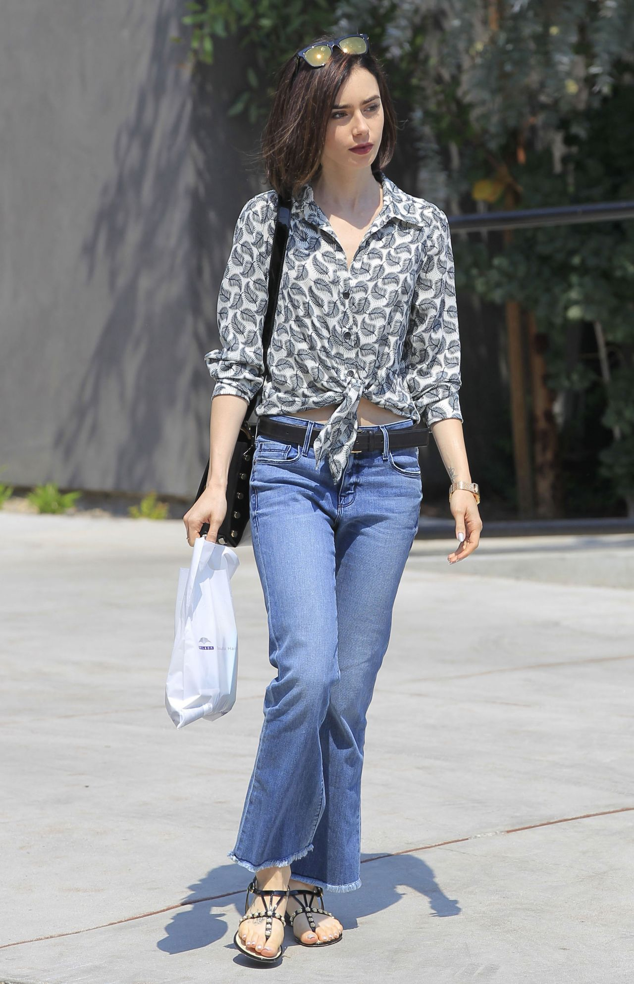 Lily Collins Shopping ...