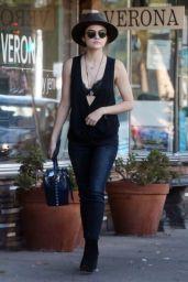 Lucy Hale Street Style - Studio City 8/30/2016