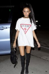 Madison Beer Night Out Style - Going to Dinner at Craig