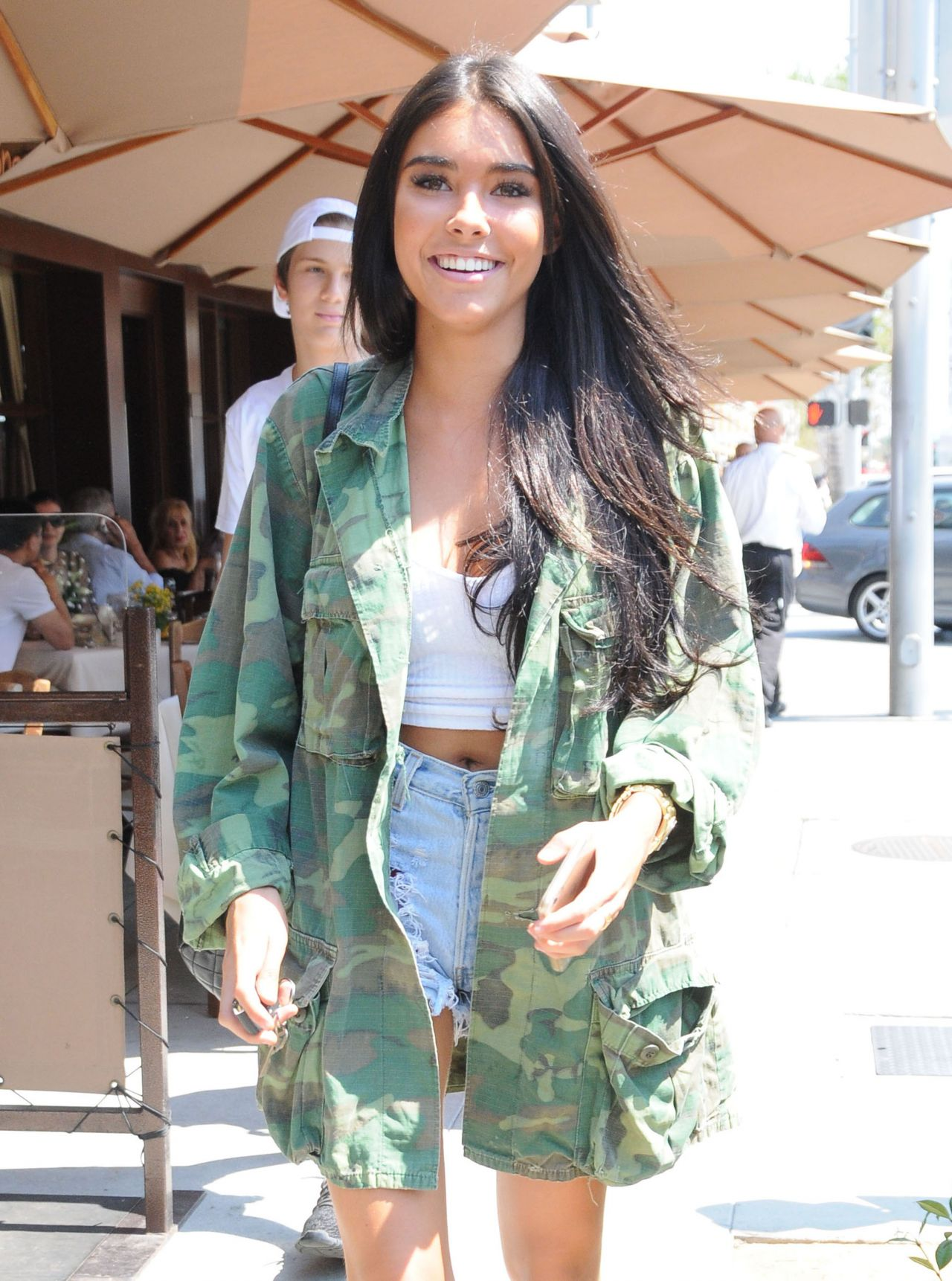 Madison Beer Urban Outfit Beverly Hills 8 23 2016