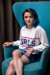 Maisie Williams - BAFTA Picadily Portraits in London, August 2016