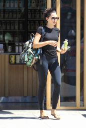 Mara Teigen in Leggings - Out in LA 8/29/2016