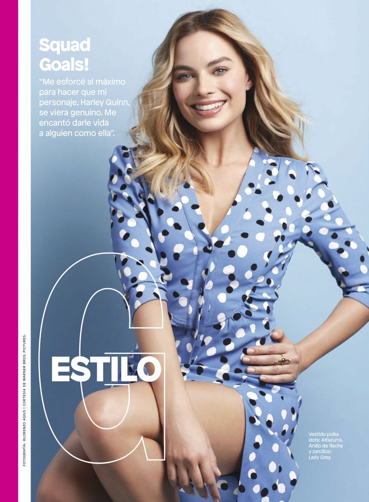 3cbf02cf64 Margot Robbie - Glamour Mexico August 2016 Issue
