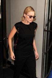 Margot Robbie -Leaving Claridges Hotel in London, UK 8/6/2016