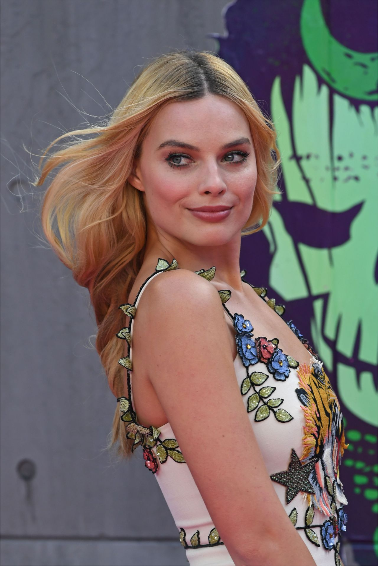 Margot Robbie Suicide Squad Premiere In London 8 3 2016