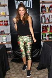 Maria Menounos - Tapout Fitness Event in New York 8/19/2016