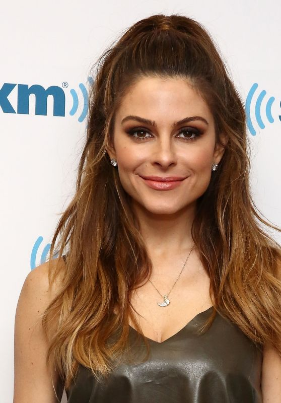 Maria Menounos - Visits SiriusXM Studios in New York, August 2016