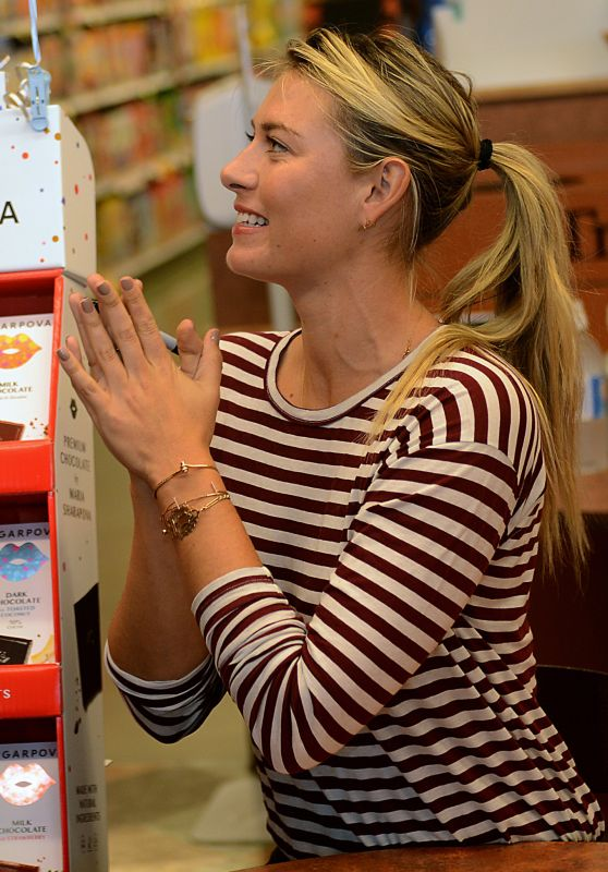 Maria Sharapova Promoting Her