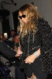 Mariah Carey at Mastro