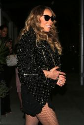 Mariah Carey at Mastro