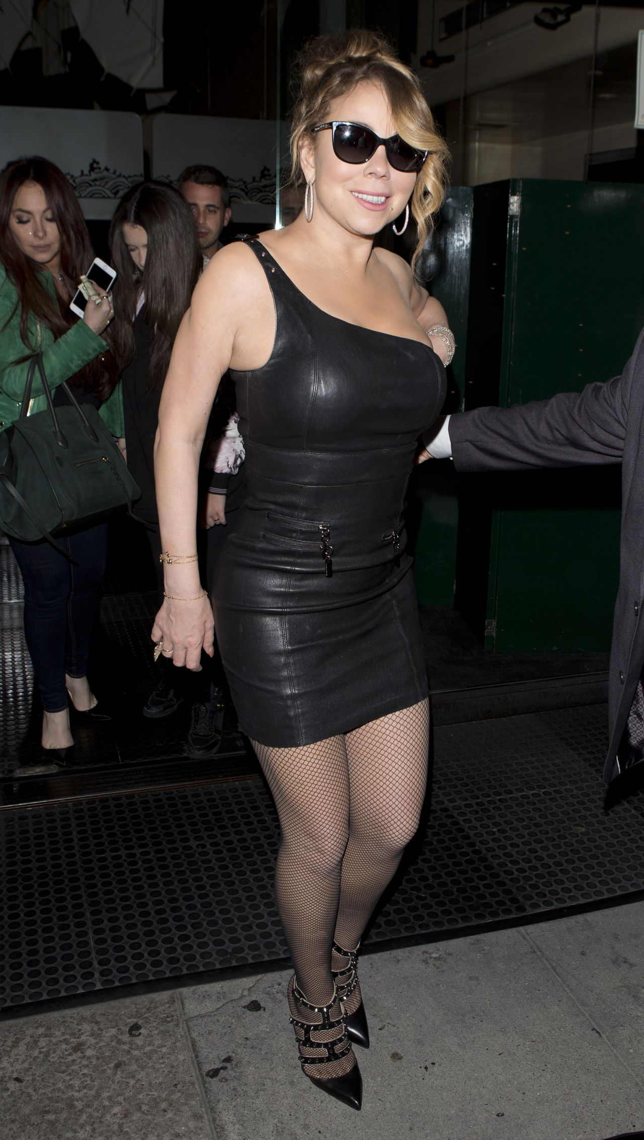 Mariah Carey Night Out Style - Leaving Mr Chow -4301