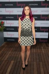 Megan Nicole – Harper by Harper's BAZAAR September Issue Party in Los Angeles 08/25/2016