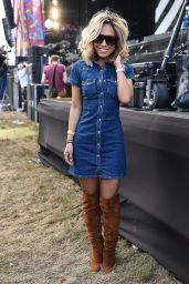 Myleene Klass - V Festival at Hylands Park in Chelmsford, England 8/21/2016