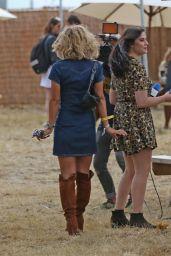 Myleene Klass - V Festival at Hylands Park in Chelmsford, England 8/21/2016