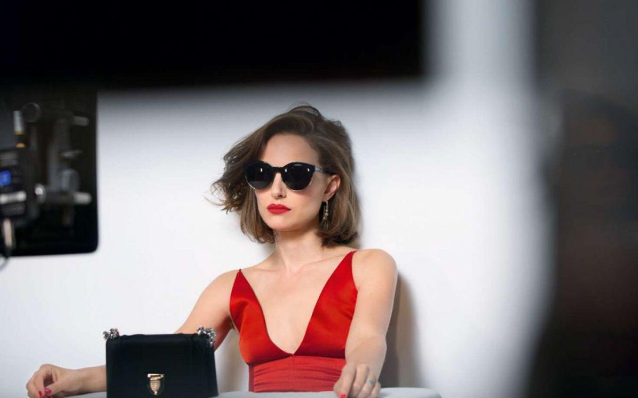 Natalie Portman – Miss Dior 'Rouge Dior' Campaign 2016 Red Lipstick Photoshoot