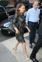 Natalie Portman Style - Out in NYC 8/18/2016