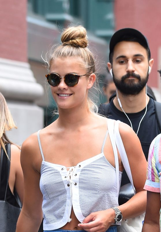 Nina Agdal - Out in NYC 8/2/2016