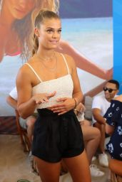 Nina Agdal – Sports Illustrated Summer of Swim Fan Festival at Coney Island, NY 8/28/2016