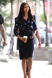 Nina Dobrev - 'Flatliners' Set in Toronto 8/23/2016